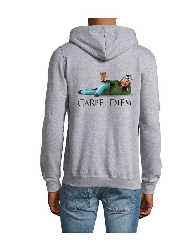 VESTE SWEAT Homme Carpe Diem