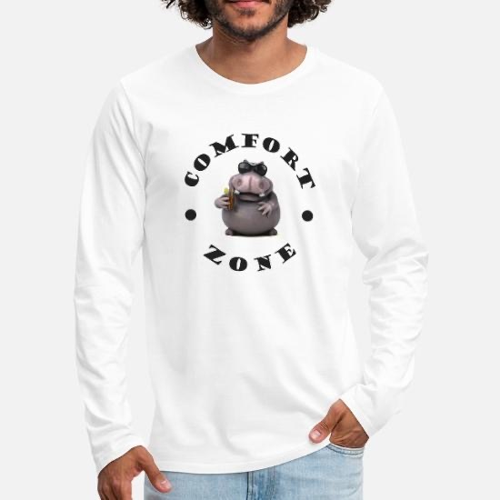 T-shirts Homme manches longues Comfort Zone
