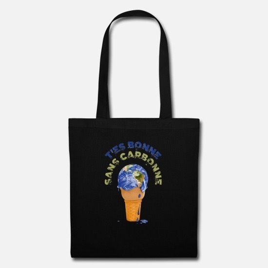 Tote Bag T'es bonne sans carbonne !